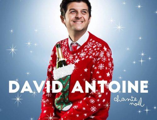 Présence de David Antoine – vente de CDs de Noël pour la bonne cause