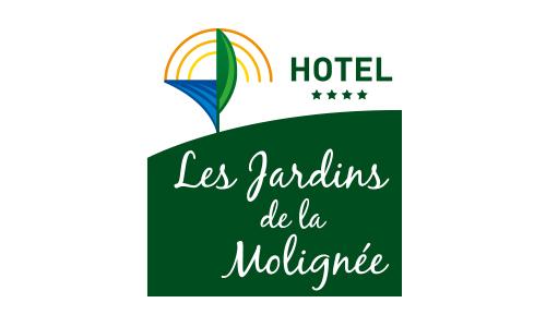 Logo Les jardins de la Molignée